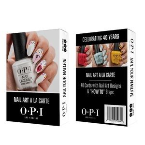 OPI Nail Art How To Cards